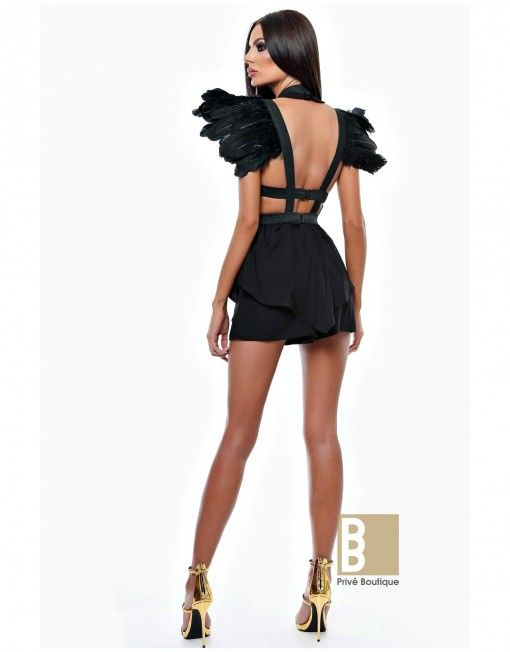 Black Angel Harness