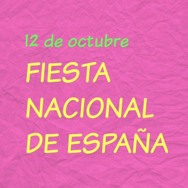 12 de octubre. Fiesta Nacional de España