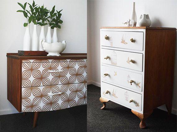 Mil e uma ideias para renovar a cômoda - dcoracao.com - blog de decoração