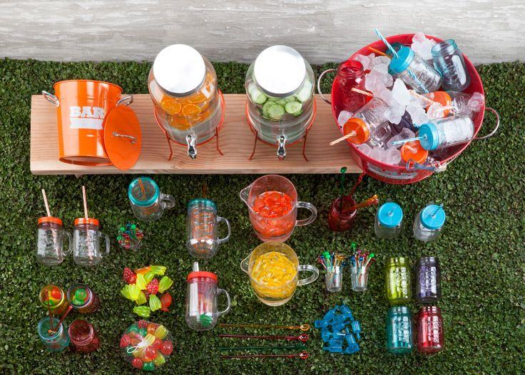 Toda la frescura y color de la primavera en la colección de mesa y terraza. Verano 2016