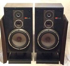 Sony SS-G1 MKII Loudspeakers with WS-E70 Base/Stands - Req Attention