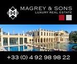 Agence immobilière Cannes. Magrey and Sons, agence immobilière de prestige située à Cannes, vous propose de nombreux biens, en location, location saisonnière, ou à l'achat, sur Cannes et la Côte d'Azur : Antibes, Cap Ferrat, Juan les Pins...