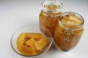 Syltede græskar med vanilje 4