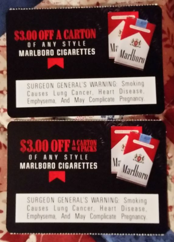 Marlboro cigarette coupons (#142982483313) - Gift Cards & Coupons