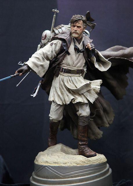 Star Wars Mythos Ben Kenobi by SideshowCollectibles