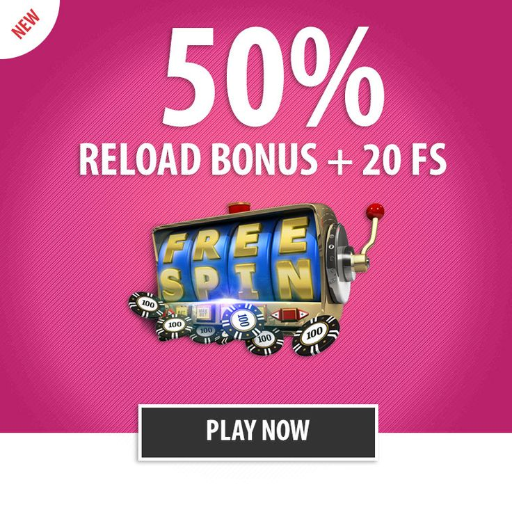 Play your favorite video slots today and enjoy a whopping 50% Reload Bonus up to €/$100 + 20 free Spins.  http://parasino.com/en/promotions/monday-spin--play-more-with-monday-free-spin-bonus