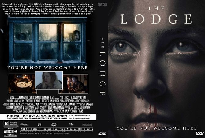 The Lodge 2020 In 2020 Dvd Cover Design Custom Dvd Dvd Covers