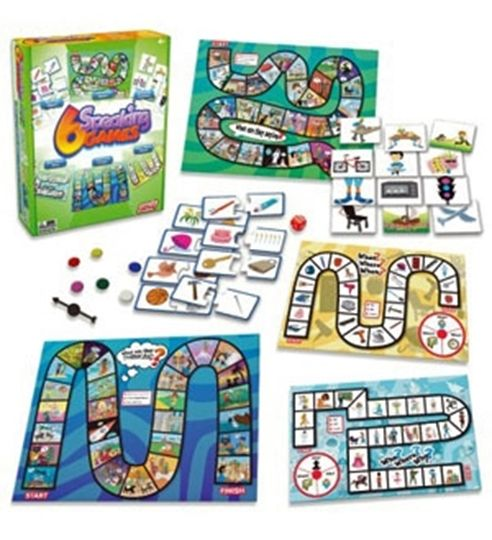 Picture of 6 Speaking Games
