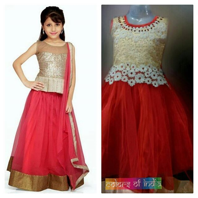 Let your little princess charm with grace in family functions or in weddings with our all new collections of pretty dresses.  #indianwear #fashion #fashions #trends #cultures #culture #india #indian #girlswear #ethnic #kids #kidswear  #clothes #clothing #beautiful #lehnga #indiansaree #indiansari #indiansarees #saree #sarees #indianoutfits #designer  #dresses #indiandesigner #style #stylish #celebrity #outfits #littlegirldresses