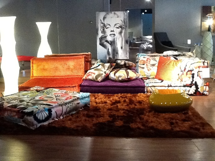 62 best mah jong images on pinterest canapes couches - Canape roche bobois kenzo ...