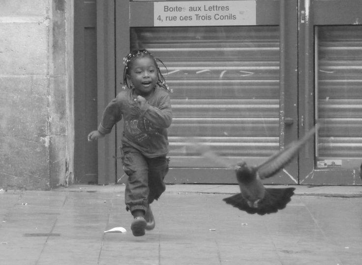 Fotografié la felicidad en Burdeos. Verano del 2009.