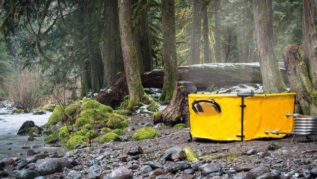 This hot tub that you can set up anywhere, anytime: | 19 Conveniently Portable Items That Will Change Your Life