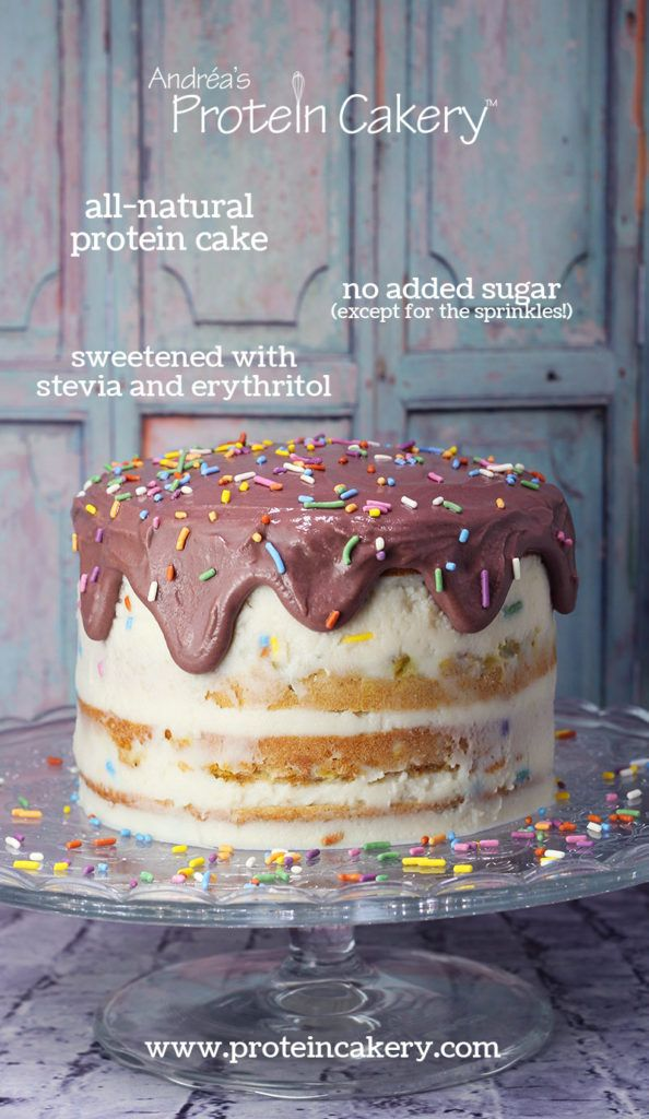 Awe Inspiring Protein Birthday Cake All Natural Gluten Free High Protein Birthday Cards Printable Opercafe Filternl