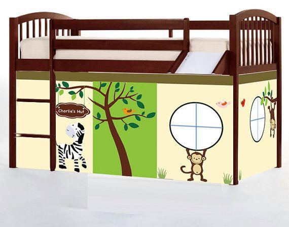 17 best ideas about Loft Bed Curtains on Pinterest   Tween bedroom ...
