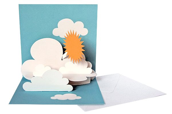 Sun Pop Up Card - maybe I'll give this a try - I've got all the dies for it! :)