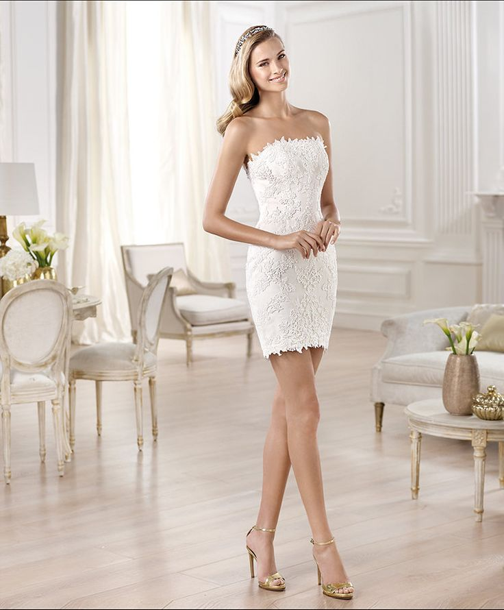 Ona wedding dresses 2014 fashion collection for Wedding dresses straight cut