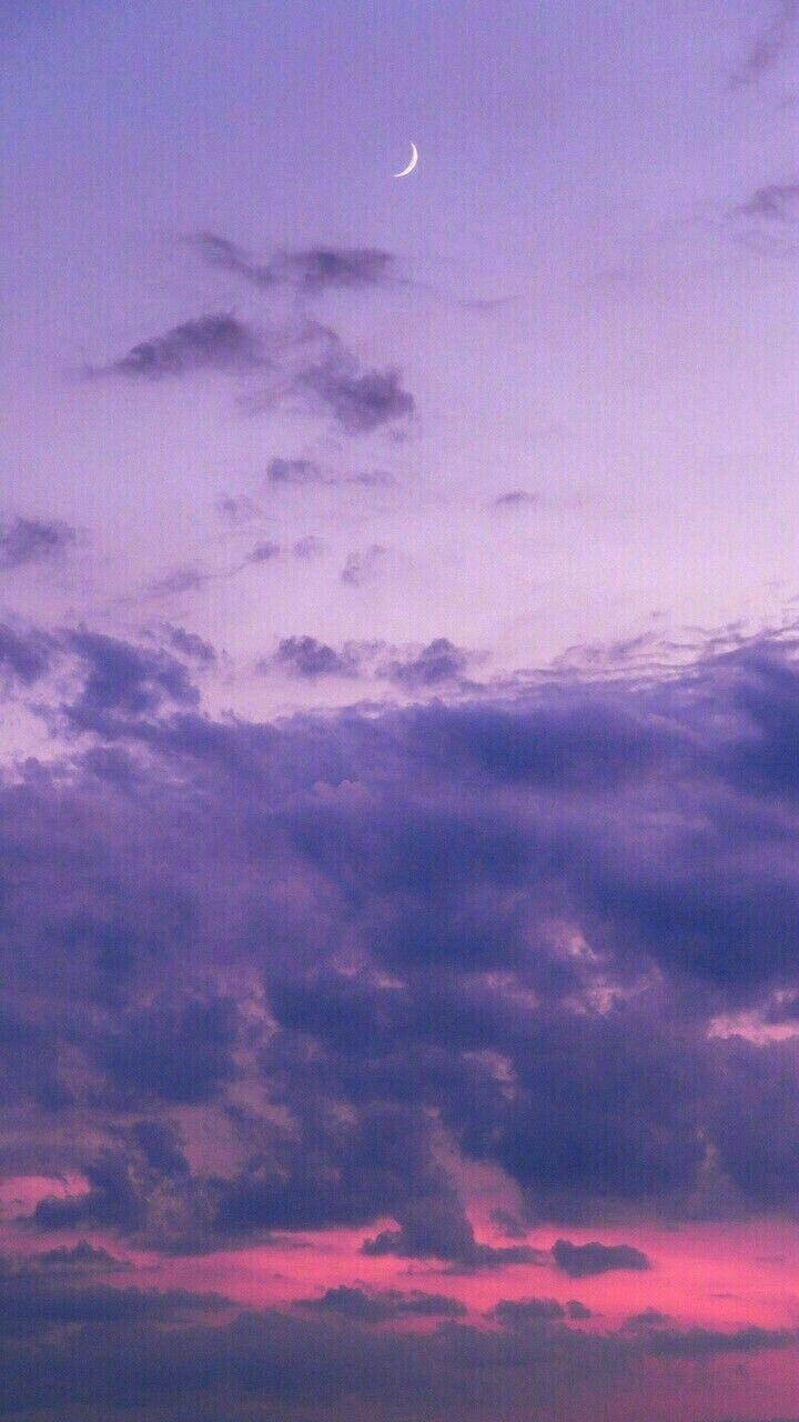 Aesthetic Purple Clouds Sky Purple Wallpaper Purple Wallpaper Iphone Sunset Wallpaper