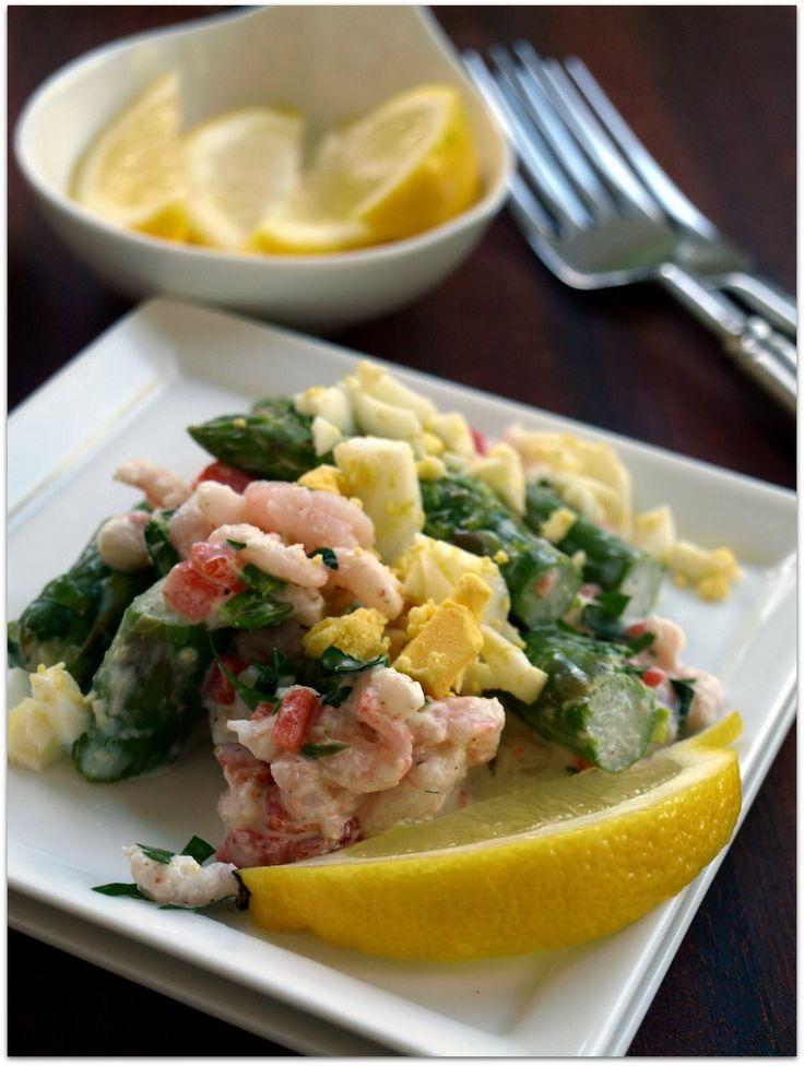 Asparagus Shrimp Salad | favorite salads | Pinterest