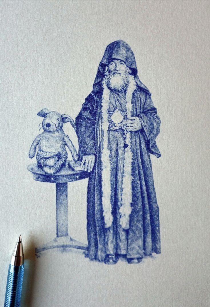 Greg Gilbert - Rabbit and priest