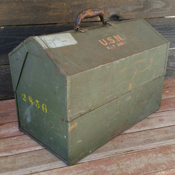 Hey, I found this really awesome Etsy listing at https://www.etsy.com/listing/228425209/kennedy-tool-box-us-navy-steel-chest