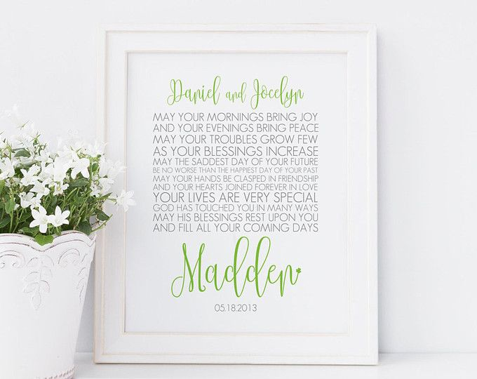Best 25+ Irish Wedding Blessing Ideas On Pinterest