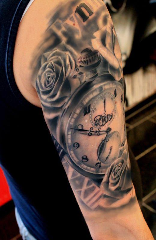 Taschenuhr mit totenkopf tattoo  343 besten Tattoos Bilder auf Pinterest | Tattoo-Designs ...