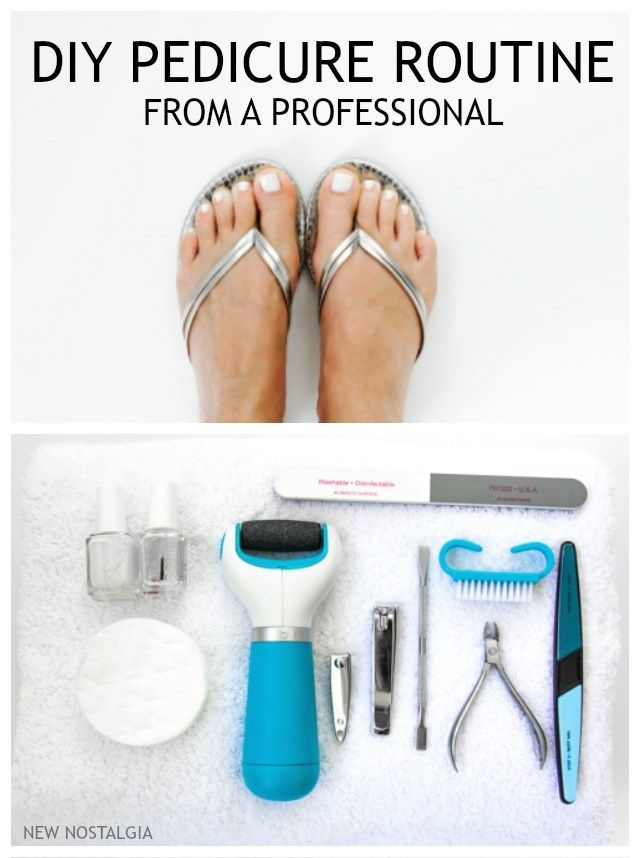 Diy Pedicure Routine With Help From A Professional Amope