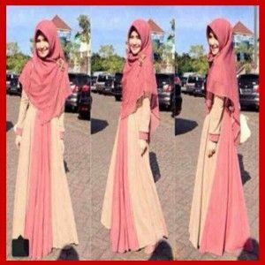 Baju gamis muslim syar'i miss soleha