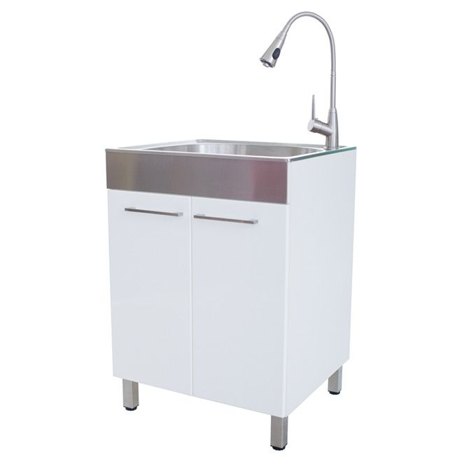 Laundry Tub with Faucet Kit                                                                                                                                                                                 More