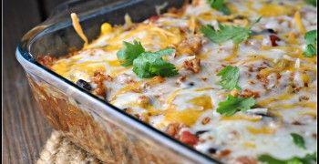 Quinoa Chicken Enchilada