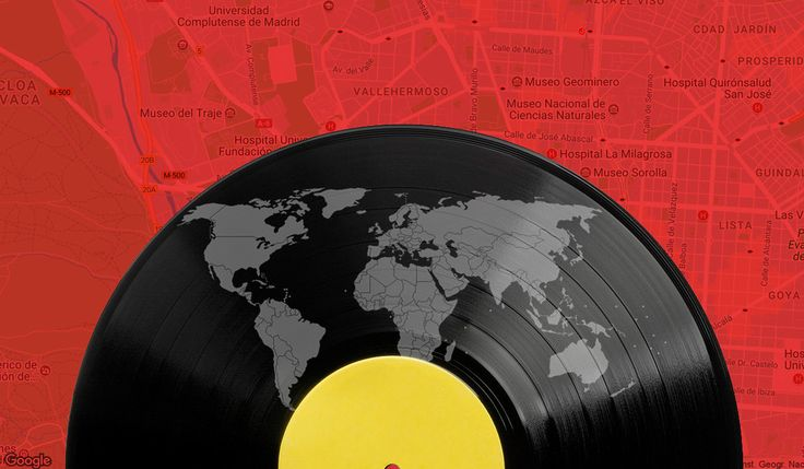 Este mapa interactivo te muestra todas las tiendas de discos del planeta