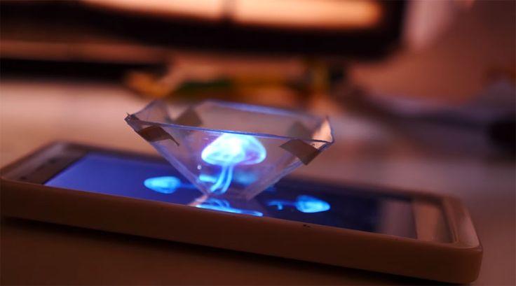 Apprenez à créer un véritable hologramme avec votre smartphone grâce à ce guide…