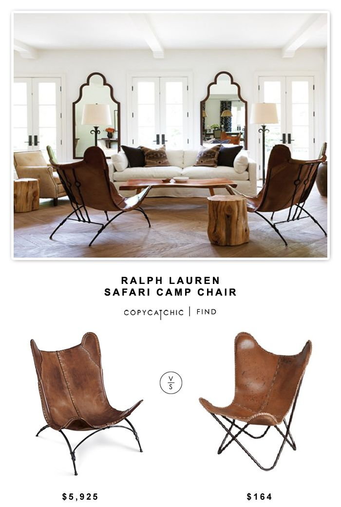 Ralph Lauren Safari Camp Chair