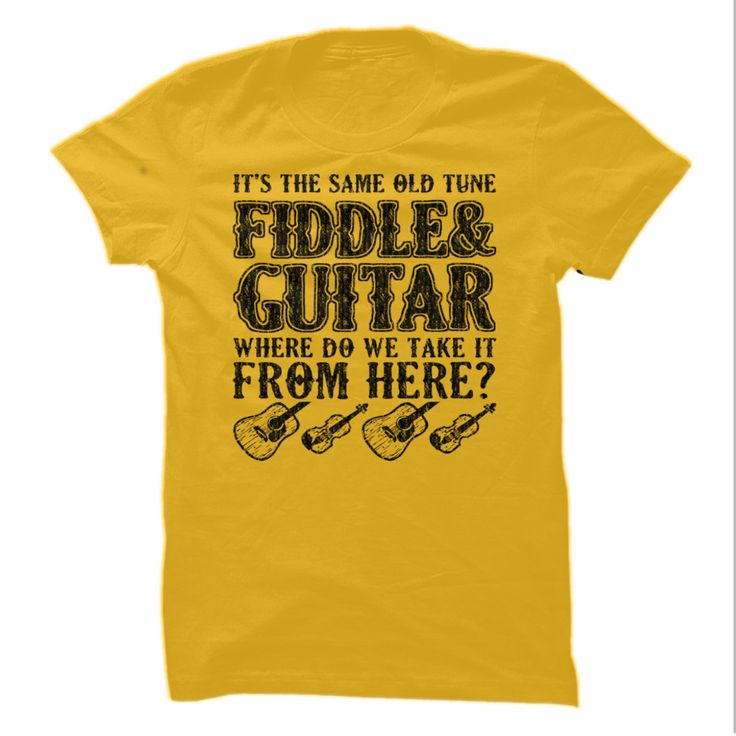 Fiddle and guitar - Tshirt