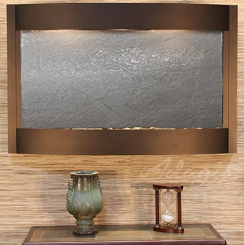 Indoor Wall Water Features - Calming Waters Lightweight Slate Wall Water Feature