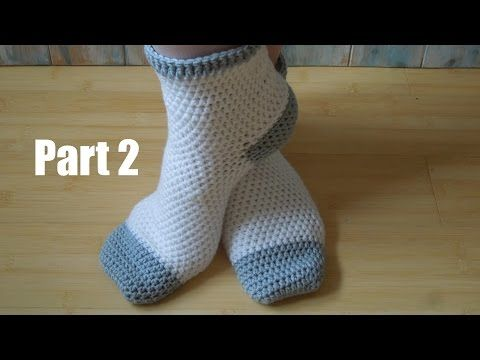 Crochet Adult Socks – Crafting Time
