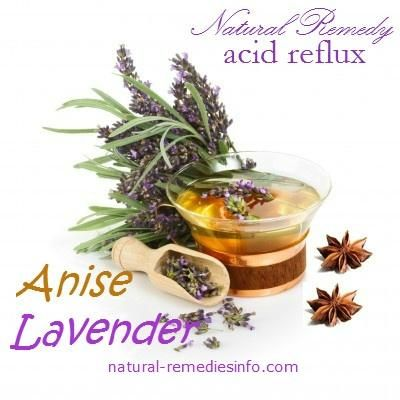 Natural remedy for acid reflux. Mix equal amounts of aniseed and lavender. After which you boil 2 ½ cups of distilled water. Pour the boiling water over a teaspoon of the herbal mixture and let it sit for 3 to 5 minutes. Strain the tea while adding a teaspoon of honey for a sweeter flavour. You can then drink around 8 ounces of this tea in the morning and the same amount in the evening for instant relief of acid reflux.