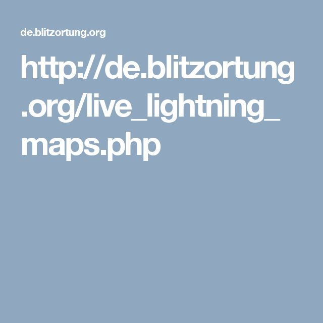 The Blitzortung live lightning map shows the world's storms and strikes in real time, with a little click played every time heaven and earth become one.