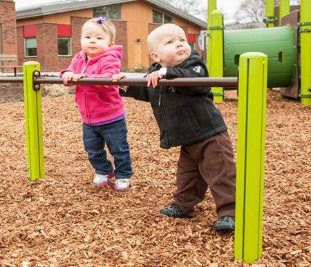 Reconnecting Kids With Nature Toddler Playground