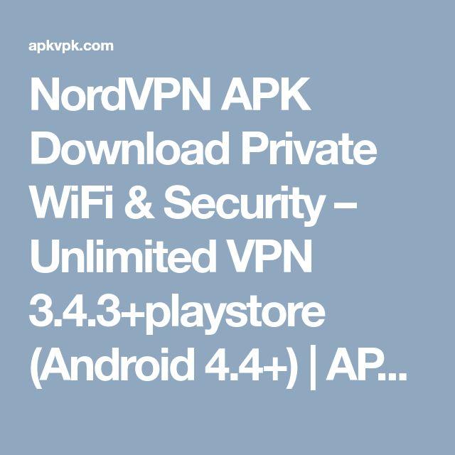 nordvpn apk full download