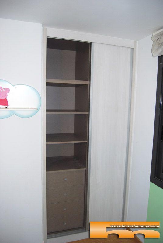 Las 25 mejores ideas sobre armarios a medida en pinterest - Textil habitacion infantil ...
