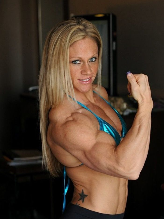 fit muscle girl