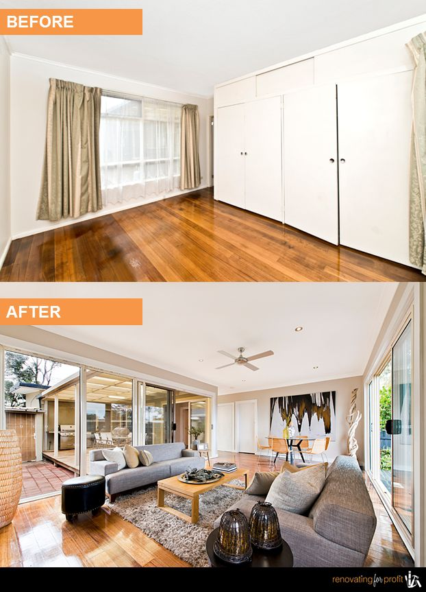 #livingroom #renovation See more exciting projects at: www.renovatingforprofit.com.au