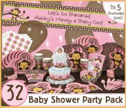 babyshower themes monkeys | Monkey Baby Shower Ideas & Decorations