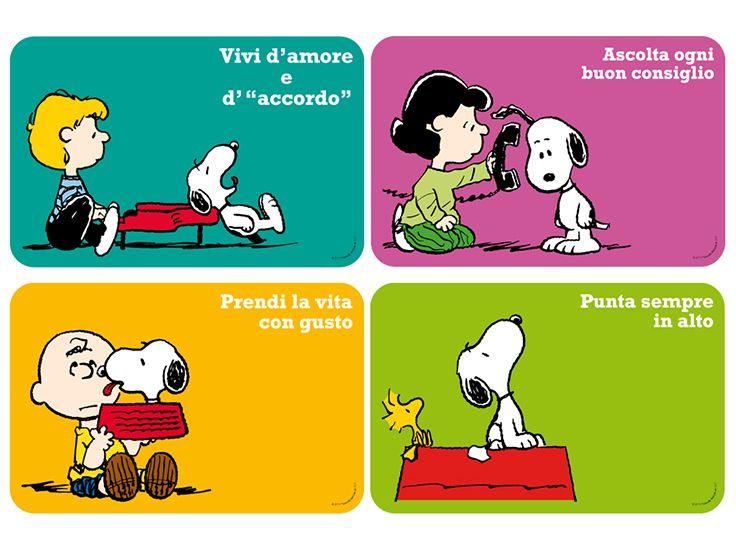 #Tovagliette #Peanuts by Excelsa