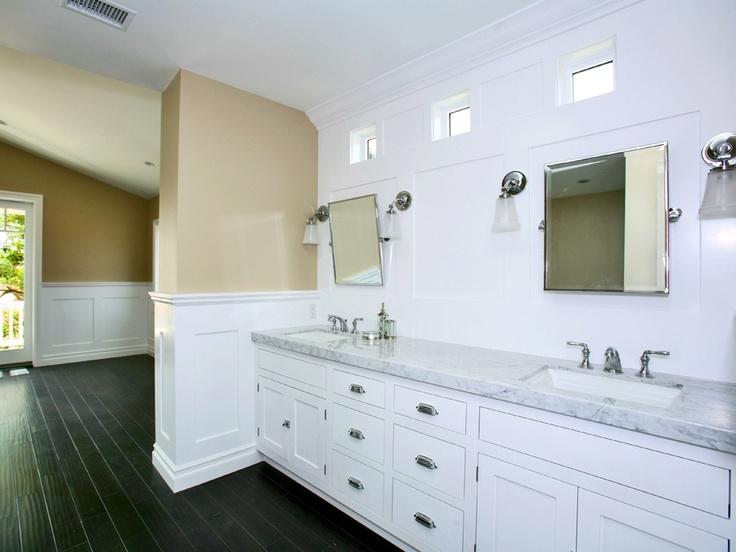 Contemporary Art Websites bathroom dual sinks marble lido isle newport beach orange county