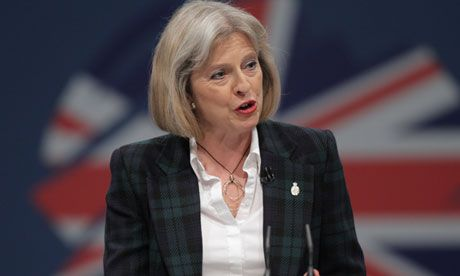 The Conservative party is prepared to withdraw from the European convention on human rights (ECHR) after the next election, the home secretary Theresa May has said, as she detailed a fresh drive to curb the appeal rights of 70,000 people who face deportation every year.