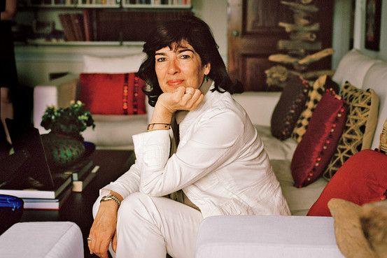 Christiane Amanpour - admire her tremendously.