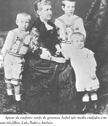 Princesa Isabel e filhos