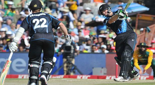 Centurion: Martin Guptill clunch 60 as New Zealand won a share of the series by winning the second Twenty 20 international against South Africa by 32 runs at SuperSport Park Sunday. New Zealand made 177 for seven – their highest total in a Twenty20 international against the Proteas – before restricting South Africa to 145 for eight.